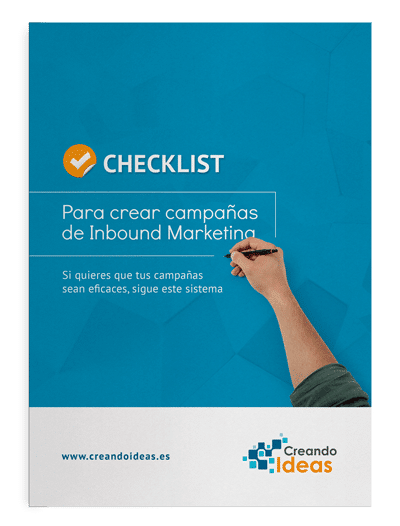 Checklist para crear campañas inbound marketing