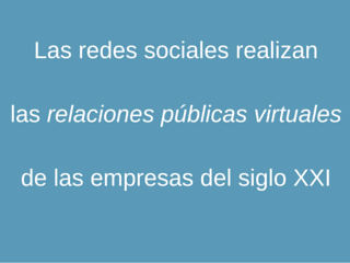 Las redes sociales_relaciones públicas virtuales