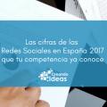 Redes Sociales en España 2017 ilustración post