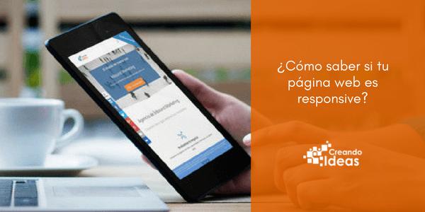 ¿Cómo saber si tu página web es responsive?