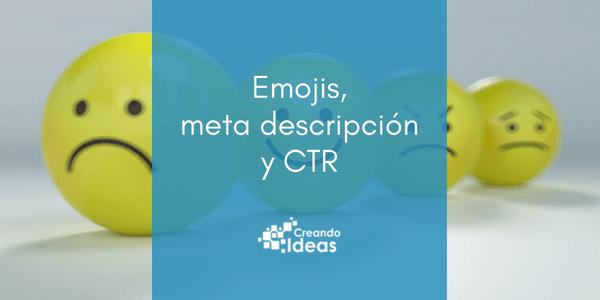 El uso de iconos en la meta descripción, ¿afecta al CTR?